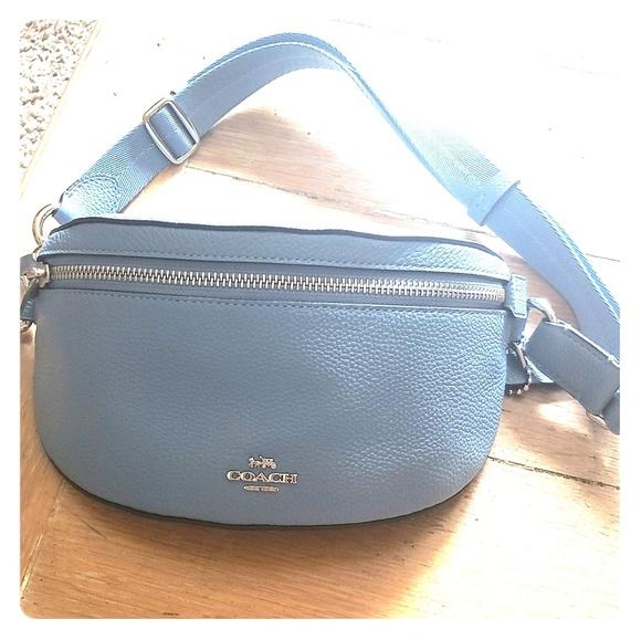 Coach Handbags - Coach New York Logo Belt Bag
